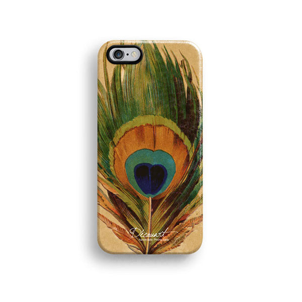 Peacock feather iPhone 7 case, iPhone 7 Plus case S206 - Decouart - 1