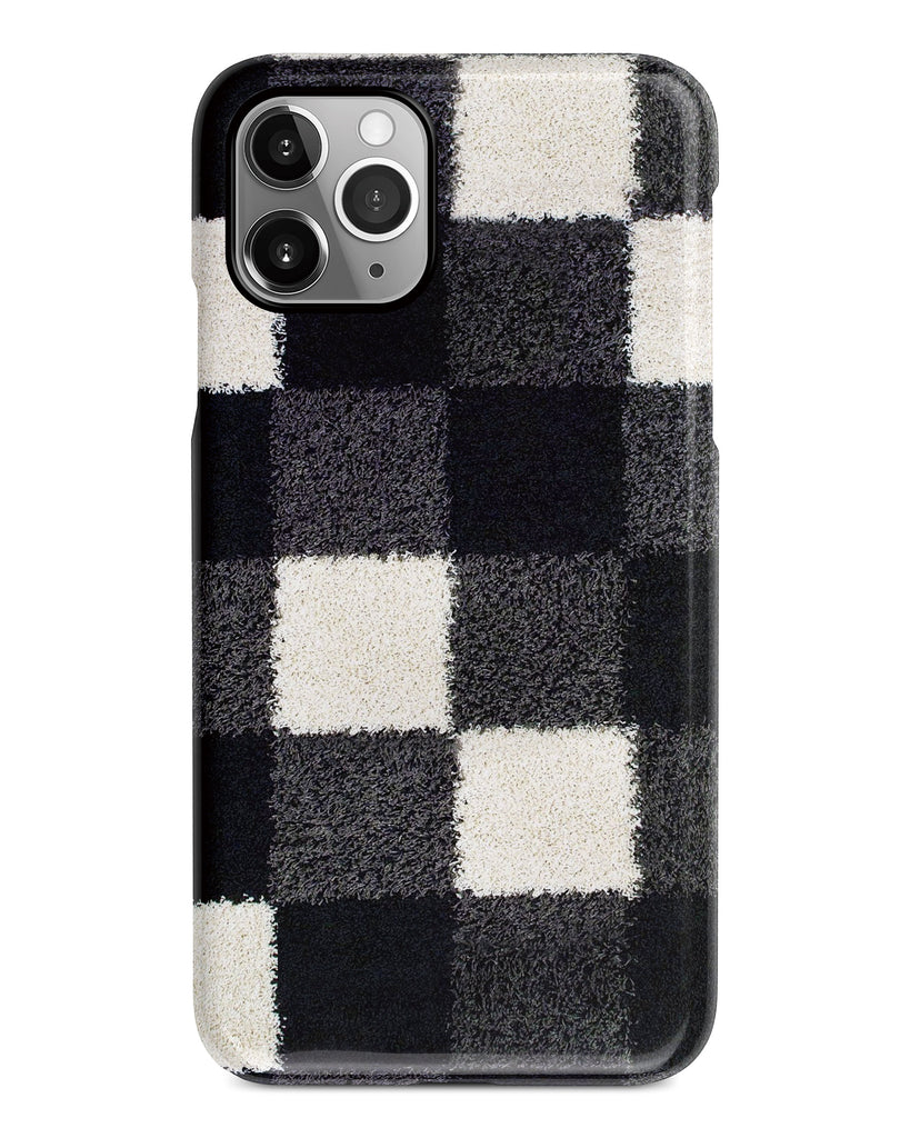 Black and white checkers iPhone 11 case S293B - Decouart