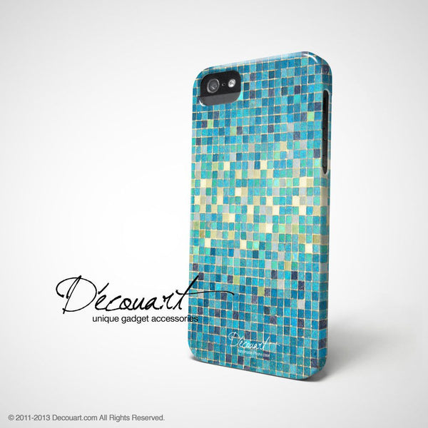 Mint tiles iPhone 7 case, iPhone 7 Plus case S296 - Decouart - 1