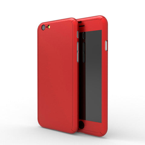 Full protection iPhone 6 / 6s red case - Decouart - 2