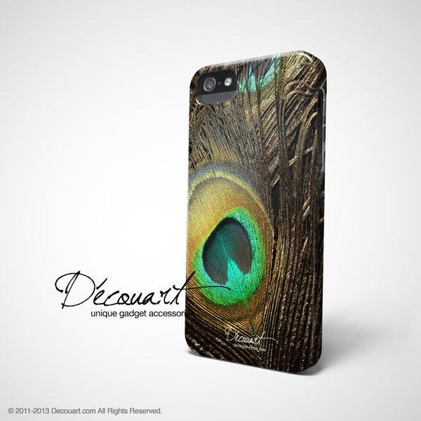 Peacock feather iPhone 7 case, iPhone 7 Plus case S304 - Decouart - 1