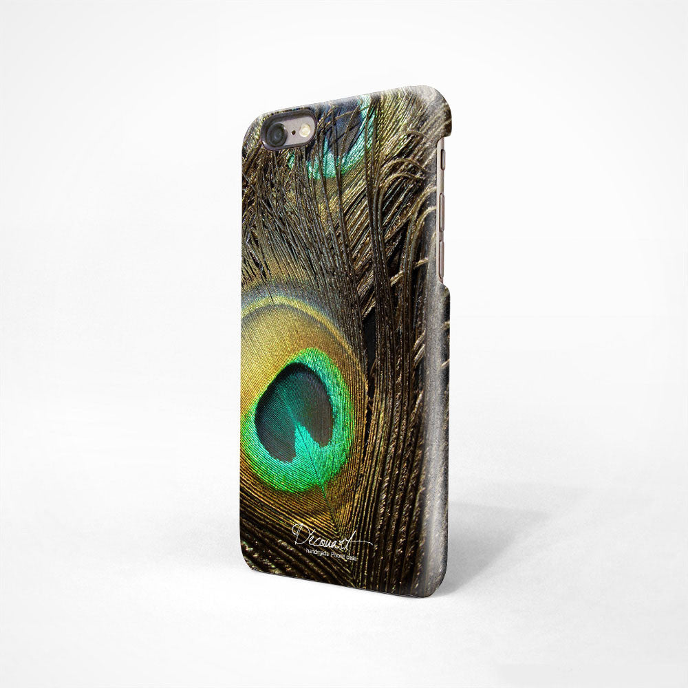 Peacock feather iPhone 11 case S304 - Decouart