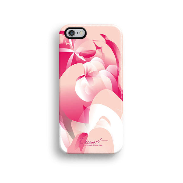 Abstract pink pattern iPhone 7 case, iPhone 7 Plus case S316 - Decouart - 1