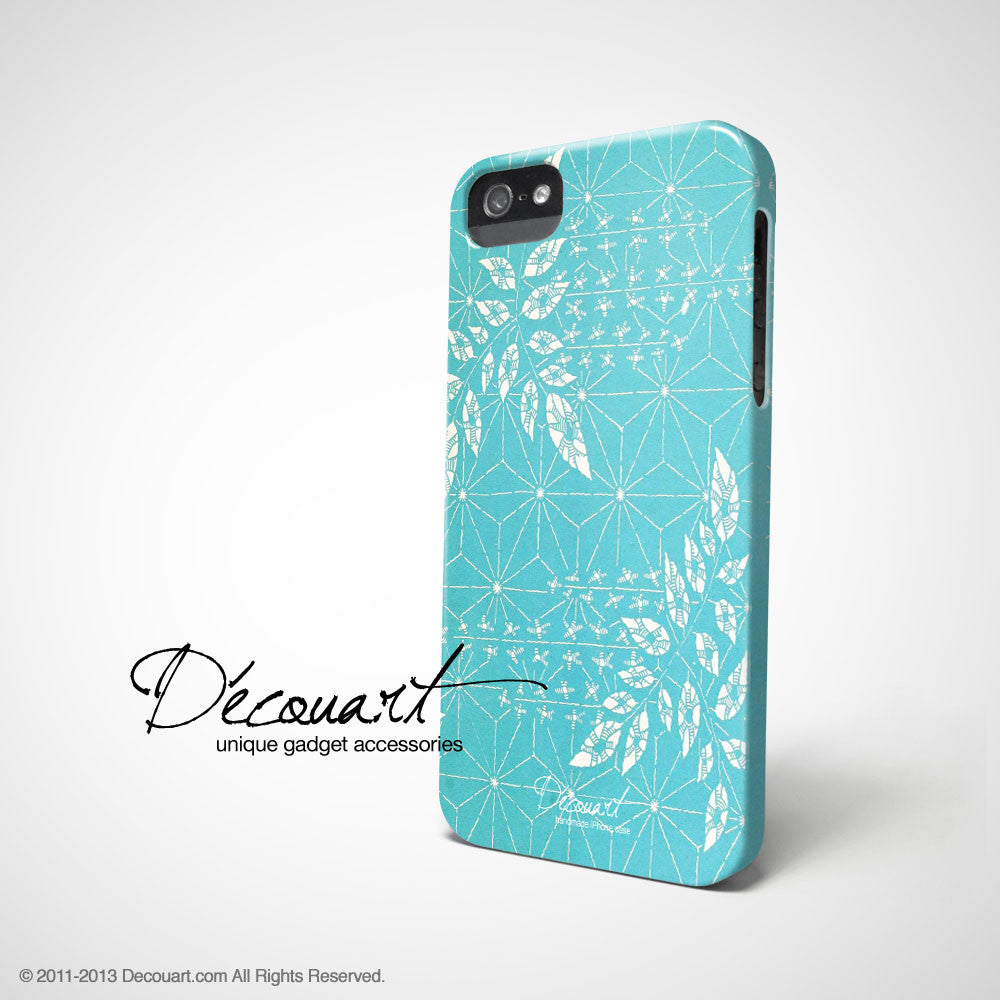 Snowflake floral iPhone 11 case S324 - Decouart