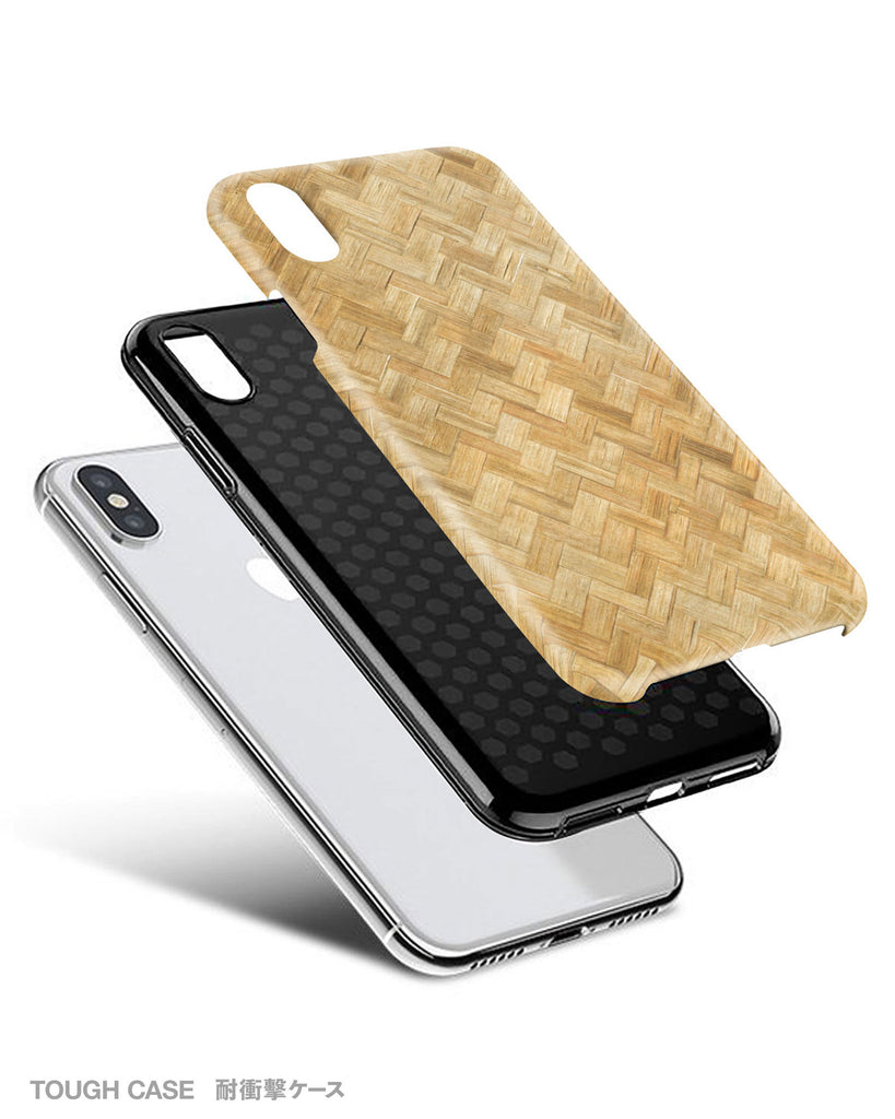 Wicker pattern iPhone 11 case S335B - Decouart