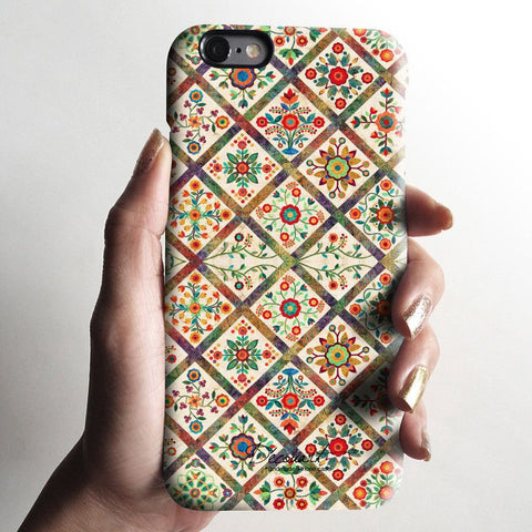 Vintage floral iPhone 6 case, iPhone 6 Plus case S342 - Decouart - 1