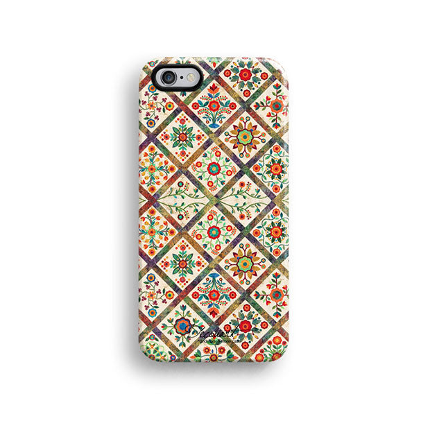 Vintage floral iPhone 11 case S342 - Decouart