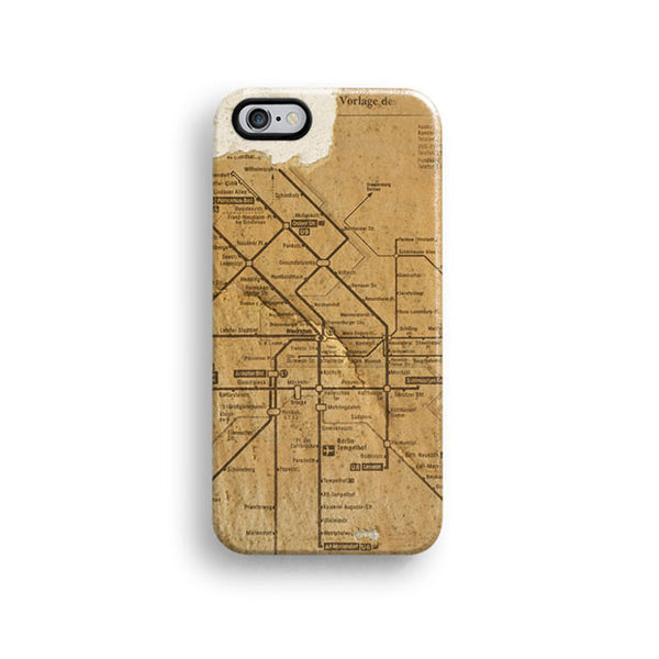 Metro map iPhone 7 case, iPhone 7 Plus case S369 - Decouart - 1
