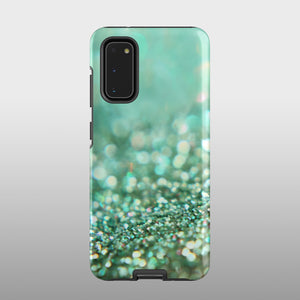 Mint sparkle Samsung case S384B