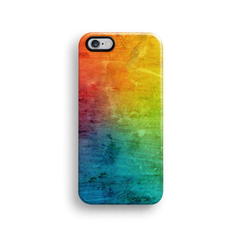 Colourful abstract iPhone 7 case, iPhone 7 Plus case S387B - Decouart - 1