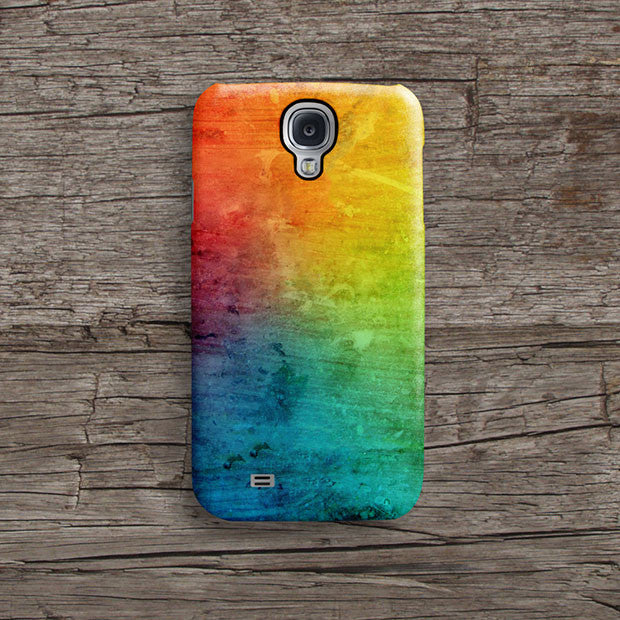 Colourful abstract iPhone 11 case S387B - Decouart