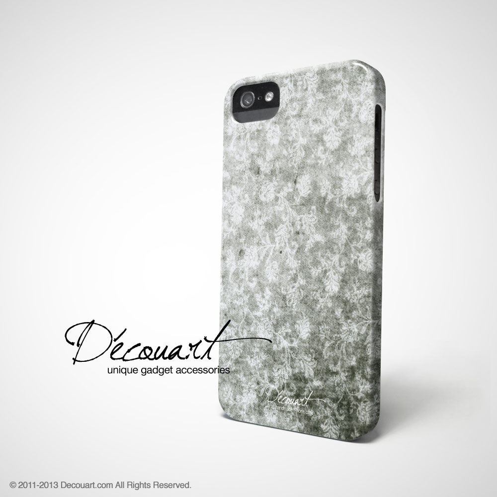 Grunge floral iPhone 11 case S393 - Decouart
