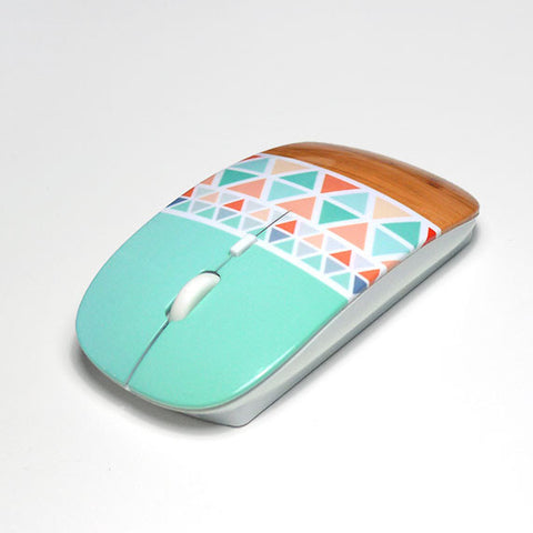 Floral mouse with matching mouse pad M342 - Decouart