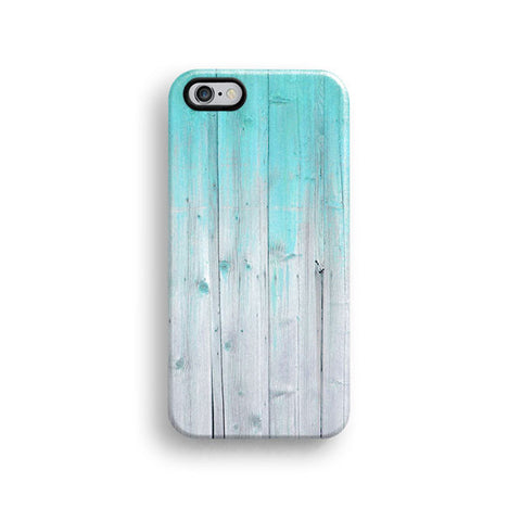 Mint wood iPhone 7 case, iPhone 7 Plus case S404 - Decouart - 1
