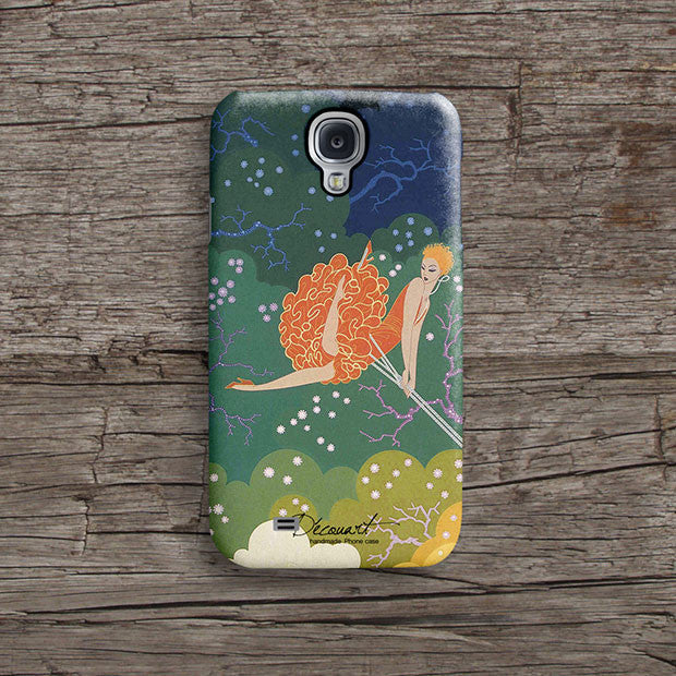 Feminine illustration iPhone 11 case S418 - Decouart