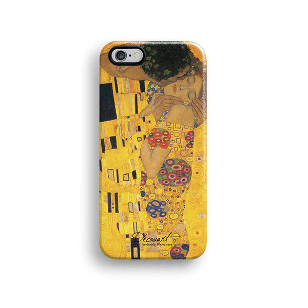Gustav Klimt feminine illustration iPhone 7 case, iPhone 7 Plus case S422 - Decouart - 1