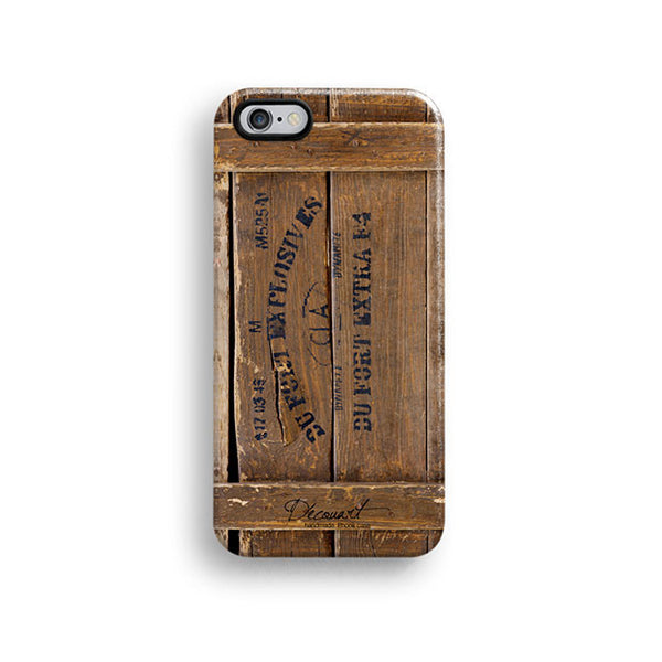 Wood crates iPhone 6 case, iPhone 6 plus case S437 - Decouart - 1