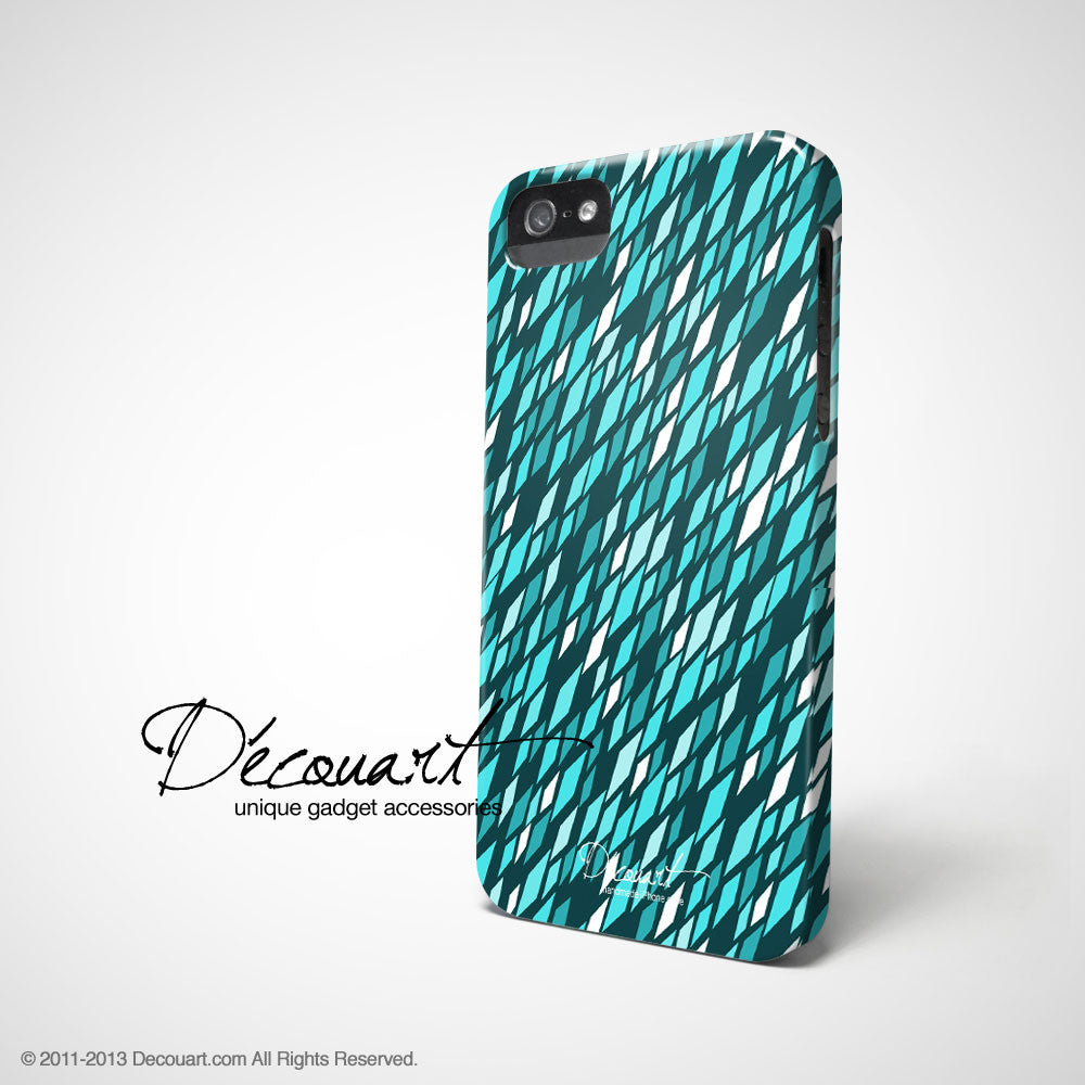 Mint geometric shape iPhone 11 case S449 - Decouart