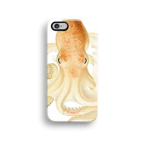 Cuttlefish iPhone 7 case, iPhone 7 Plus case S452 - Decouart - 1