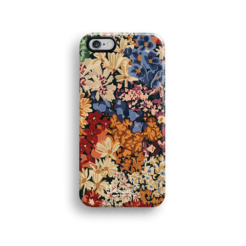 Vintage floral iPhone 7 case, iPhone 7 Plus case S456 - Decouart - 1