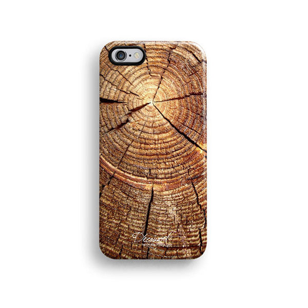 Grunge tree ring iPhone 6 case, iPhone 6 plus case S463B - Decouart - 1
