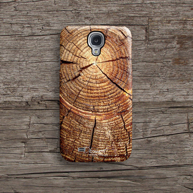 Grunge tree ring iPhone 11 case S463B - Decouart