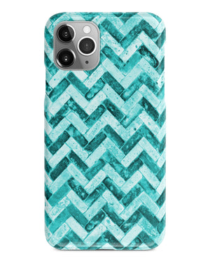 Mint grunge chevron iPhone 11 case S466 - Decouart