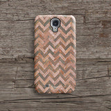 Papaya grunge chevron iPhone 11 case S467B - Decouart