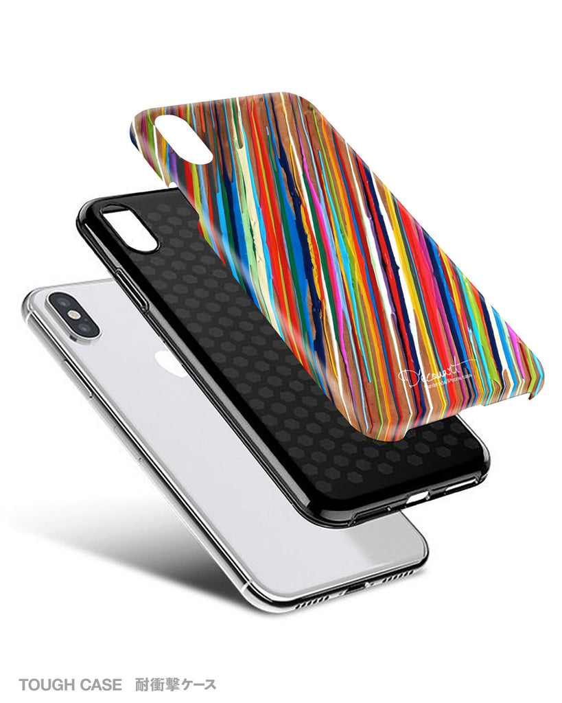 Colourful stripes iPhone 11 case S471B - Decouart