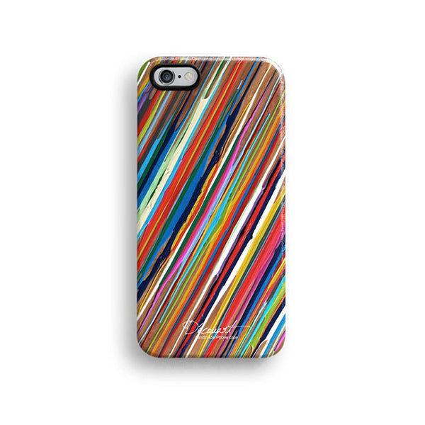 Colourful stripes iPhone 6 case, iPhone 6 plus case S471B - Decouart - 1
