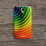 Rainbow circular iPhone 7 case, iPhone 7 Plus case S473B - Decouart - 2