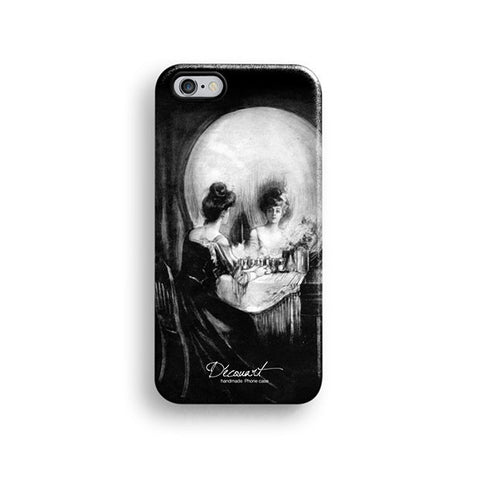 Optical illusion skull iPhone 7 case, iPhone 7 Plus case S485 - Decouart - 1