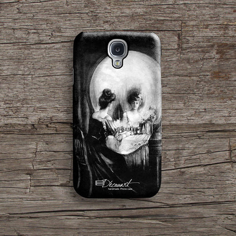 Optical illusion skull iPhone 7 case, iPhone 7 Plus case S485 - Decouart - 2