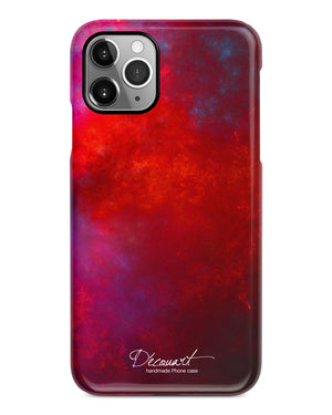 Abstract red iPhone 11 case S486B - Decouart