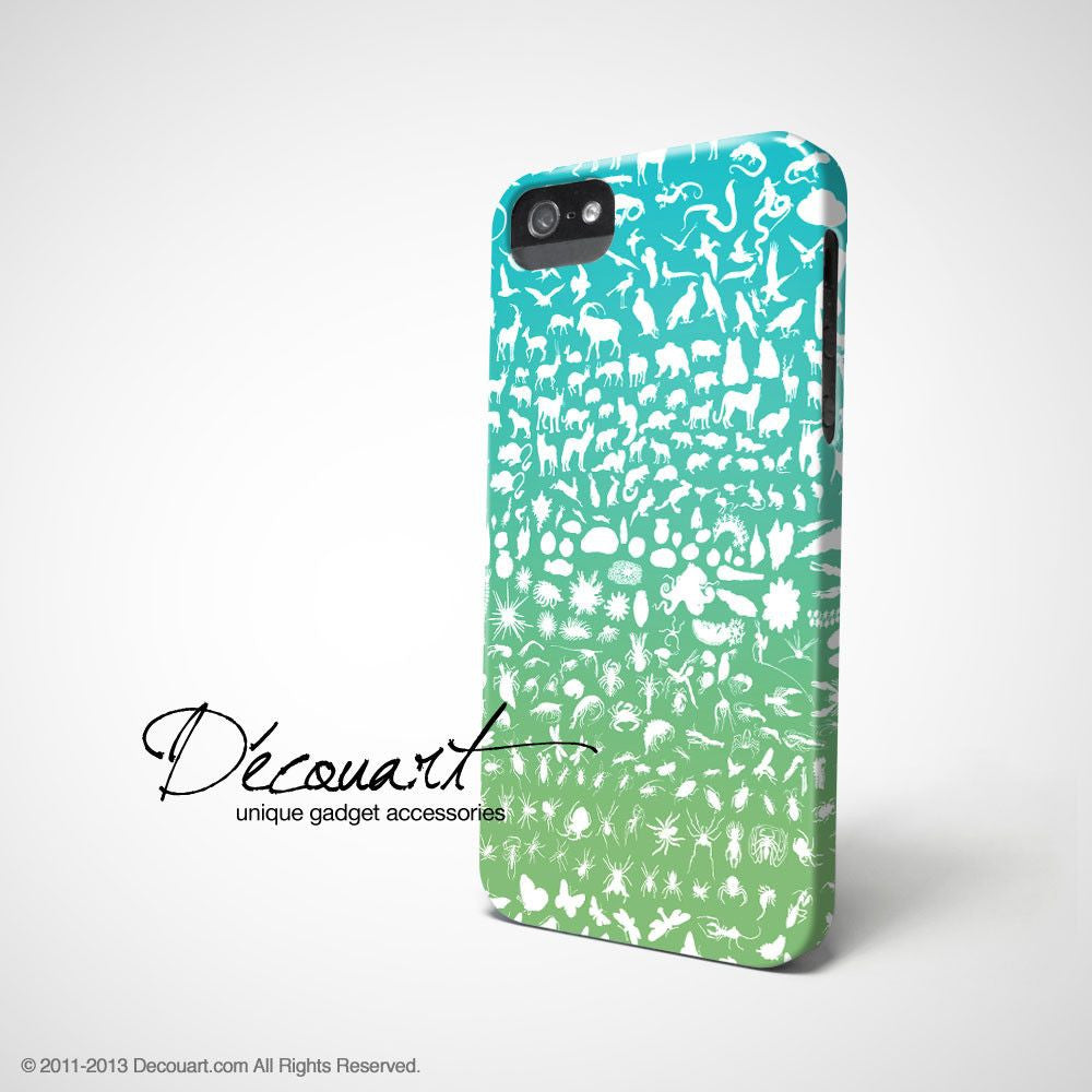 Animal silhouette iPhone 11 case S488 - Decouart