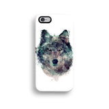 Geometric wolf iPhone 11 case S490 - Decouart
