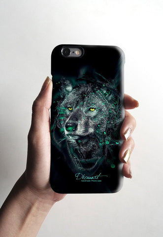 Black wolf iPhone 6 case, iPhone 6 plus case S493 - Decouart - 2