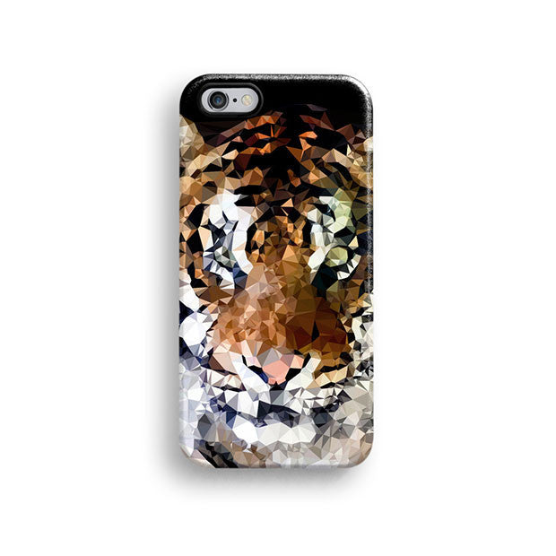 Geometric tiger iPhone 11 case S495 - Decouart