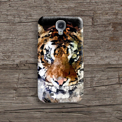 Geometric tiger iPhone case S495 - Decouart