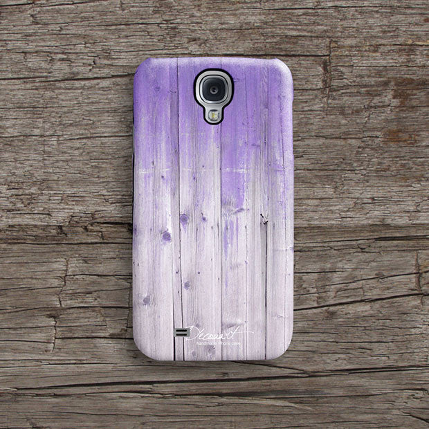 Violet wood iPhone 11 case S496B - Decouart
