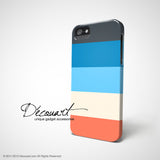 Colourful stripes iPhone 7 case, iPhone 7 Plus case S498 - Decouart - 3