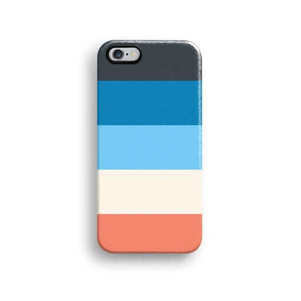 Colourful stripes iPhone 7 case, iPhone 7 Plus case S498 - Decouart - 1