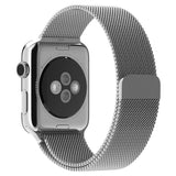 Apple watch band, Decouart Milanese loop Stainless Steel Gold Bracelet for 42mm 38mm - Decouart