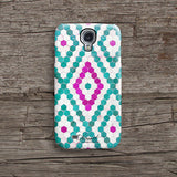 Mint tiles iPhone 7 case, iPhone 7 Plus case S504 - Decouart - 2