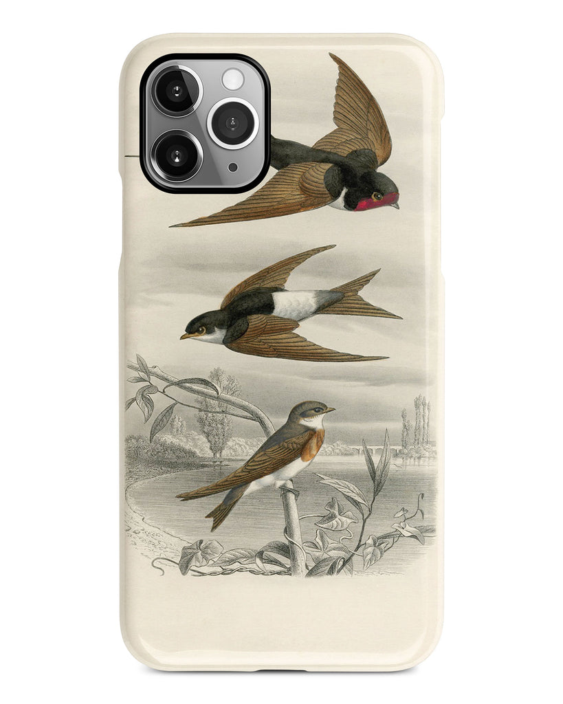 Swallows iPhone 11 case S506 - Decouart