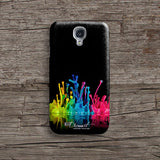 Colourful paint splash iPhone 7 case, iPhone 7 Plus case S515 - Decouart - 2