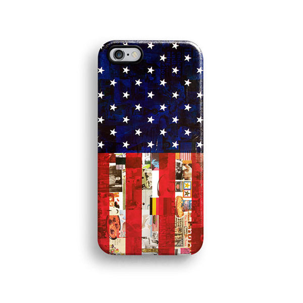 American flag iPhone 7 case, iPhone 7 Plus case S538 - Decouart - 1