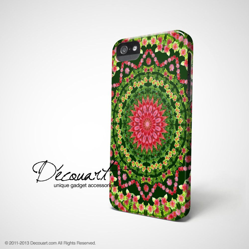 Floral mandala iPhone 11 case S542 - Decouart