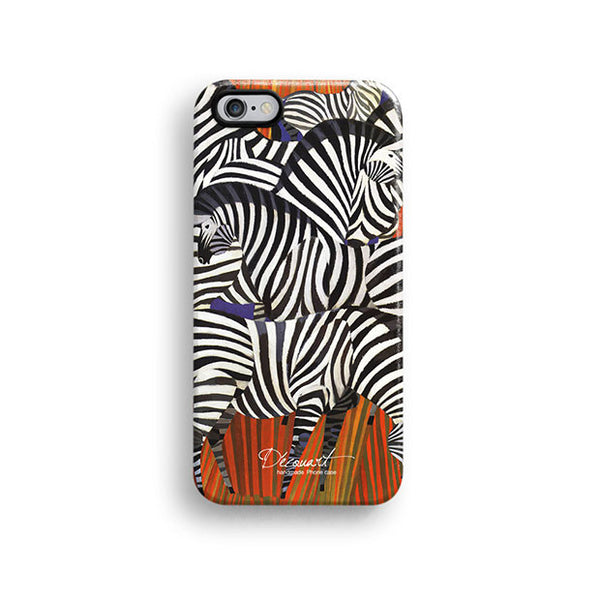 Zebra pattern iPhone 7 case, iPhone 7 Plus case S551 - Decouart - 1