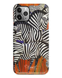 Zebra pattern iPhone 11 case S551 - Decouart